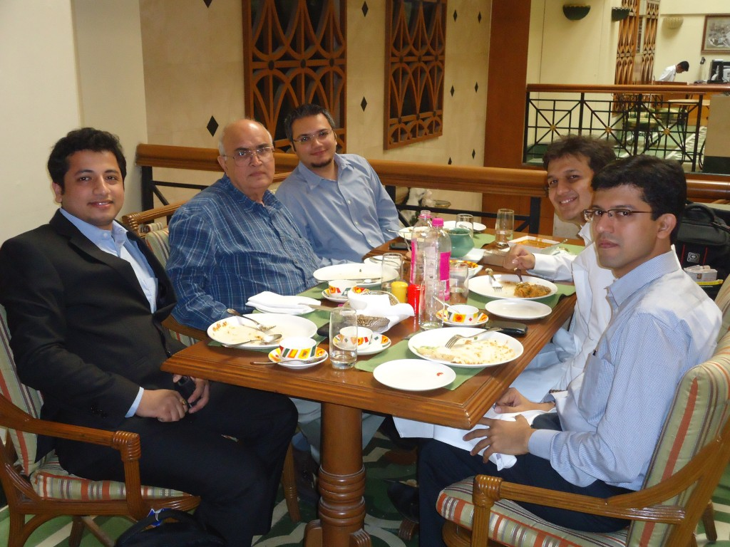 Lunch with Kanwal Rekhi