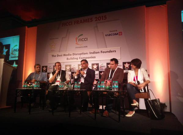 FICCI FRAMES panel on entrepreneurship